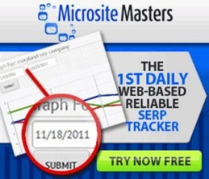 microsite masters serp tracker
